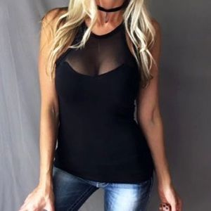 Tops - LAST ONE💕 Sexy black sleeveless top