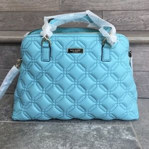 Kate Spade Baby Blue Quilted Bag