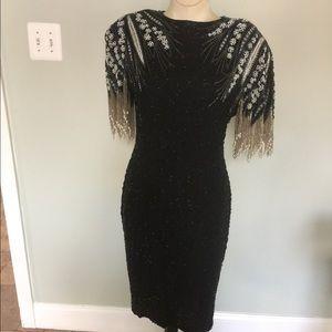 A.J. Bari Dresses & Skirts - Vintage A.J.Bari Beaded Dress