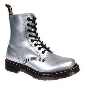 Dr.martens silver boots