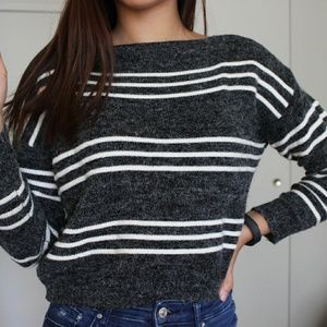 Sweaters - PRICE DROP! Cropped Boatneck Sweater