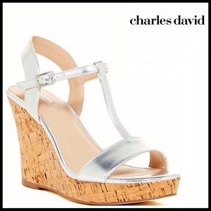 Charles David Shoes - ❗️1-HOUR SALE❗️CHARLES DAVID Wedge Platform Sandal