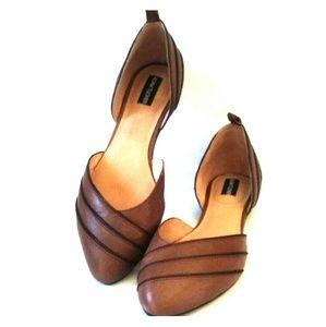 Adam Tucker Shoes - Adam Tucker D'orsay Flats NWB Sz 9.5