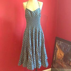 RL denim-like dress