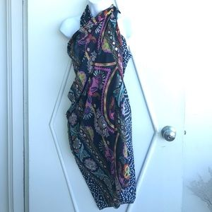 Accessories - Hand Stitched Beaded Sarong  Scarf
