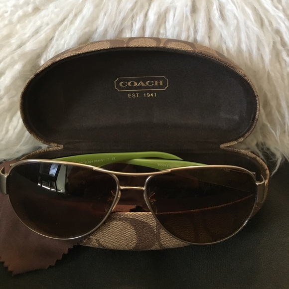 a0a8d8fbd4 ... greece coach aviator charity sunglasses ba2cf 3ba1f