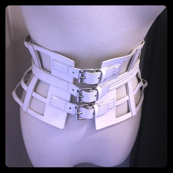 cb9a4fa5ee BCBG MaxAzria Accessories - BCBG MaxAzria Cut Out Corset Waist Belt