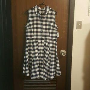 NWT Gingham Summer Dress