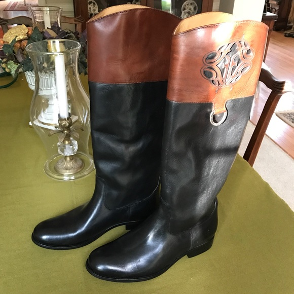 frye frye melissa logo boots coming soon from ��blands