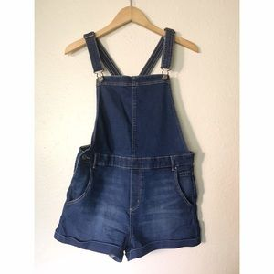 H&M Pants - H&M Denim Shorts Overalls