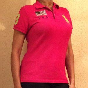 Polo by Ralph Lauren Tops - 🛍️ Sale 🛍️ Women's Ralph Polo Shirt -Pink