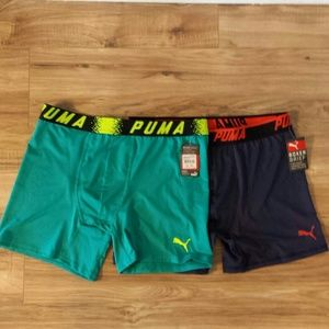 10.Deep Other - Puma Mens Boxer Brief NWT Size Large Blue