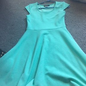 Myths Other - turquoise flow dress