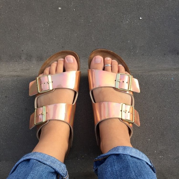 4ce22b41a457 Rose Gold Steve Madden birkenstocks. M 590a5717291a35b96d0053c9. Other Shoes  you may like