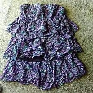 Tube dress.