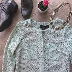 Victoria Beckham Dresses & Skirts - Victoria Beckham for Target Mint Green Lace Dress