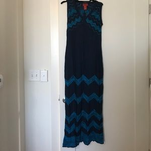Missoni Dresses & Skirts - Missoni for Target blue knit maxi dress, S