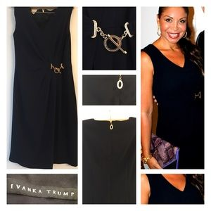 Ivanka Trump Navy Dress.