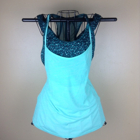 66 off lululemon athletica tops lululemon tank with for Shirts with built in sports bra