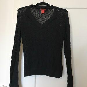 Missoni Sweaters - Missoni for Target black sweater, M