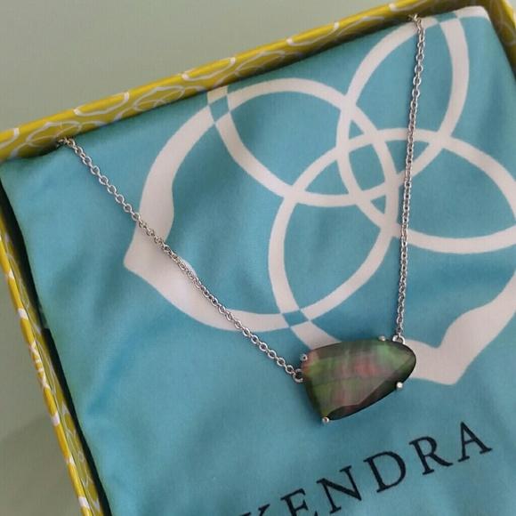 Kendra scott jewelry isla black pearl pendant necklace poshmark kendra scott isla black pearl pendant necklace aloadofball Image collections