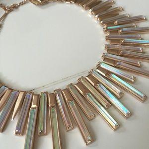 NWOT rose gold Kaplan Kendra Scott necklace