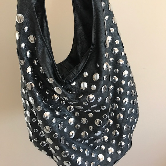 Lionel black studded shoulder bag! Crazy cute! 0f46e536817ed