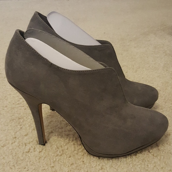 Apt. 9 Shoes - Brand new gray suede booties!