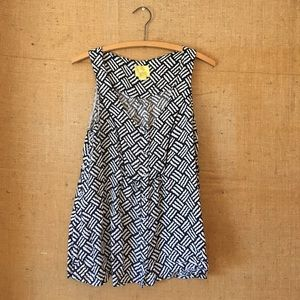 Navy & White top by Maeve // Anthropologie, Size 6