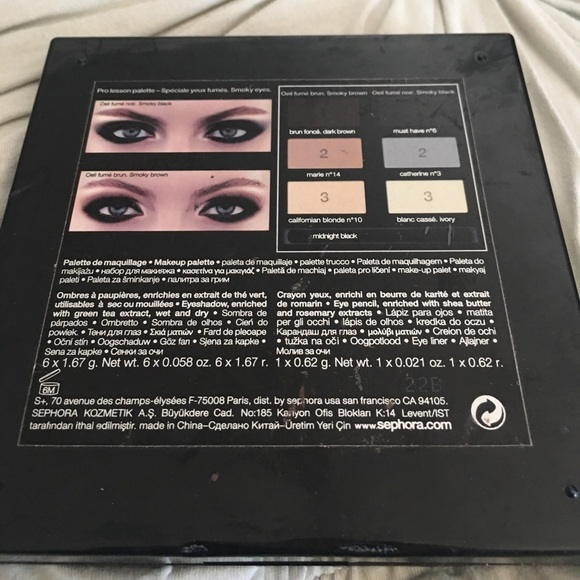 Makeup Sephoria Smokey Eye Kit Poshmark
