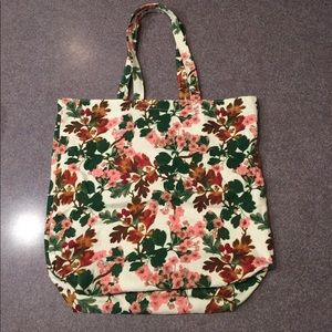 Cooperative Handbags - Lovely Floral Canvas Tote NWOT