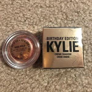 Kylie Cosmetics Other - Rose gold cremé eyeshadow