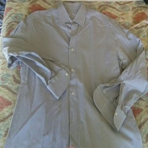 BRIONI Other - AUTHENTIC BRIONI DRESS SHIRT GRAY CHECK 40