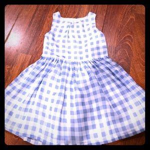 "Beautiful ""Dorothy"" dress. Blue and white plaid"