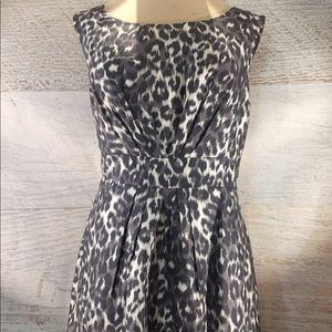 Kate Spade ♠️ silk leopard print dress 4