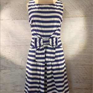 Kate Spade ♠️ navy & white stripe Jillian dress 4