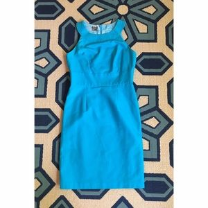 Muse Refined Dresses & Skirts - Blue fitted dress 🎀 size 8