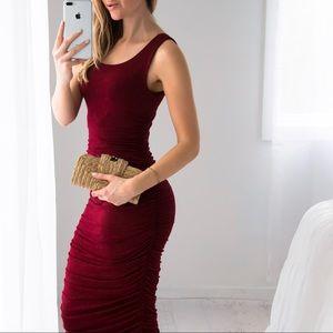 11thstreet Dresses & Skirts - Essex Midi | Burgundy