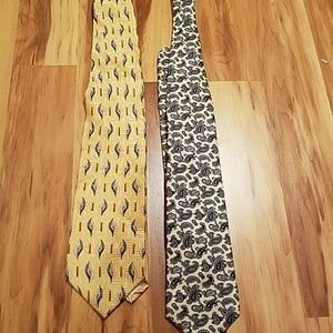 Pierre Balmain Other - PAIR MENS TIES!!! FLASH SALE!