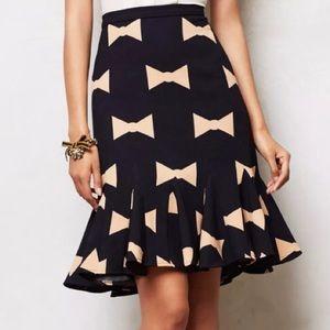 {anthropologie} Eva Franco how tie skirt