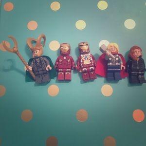 Lego Other - Avenger  legos set of 5