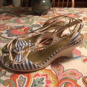 Arturo Chiang Shoes - Arturo Chiang strappy wedge heels size 9 1/2