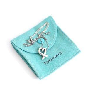Tiffany & Co. Loving Heart Silver Necklace