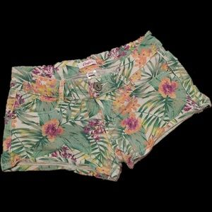 Candie's Pants - Candie's Tropical Print Shorts #010