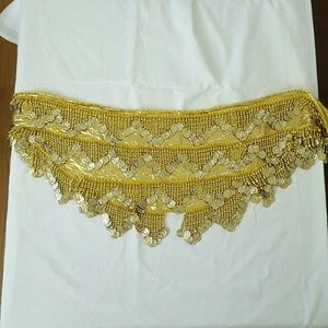 Dresses & Skirts - Beaded hip wrap belly dancing/Halloween