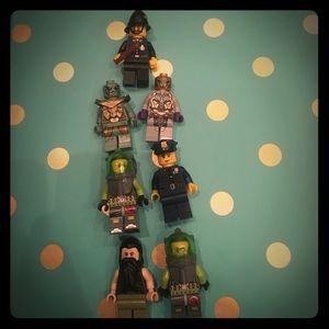 Lego Other - Scuba, police, and Atlantis Legos