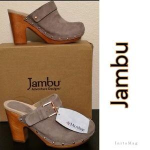 Jambu Shoes - 👡 🌎 Jambu Serafina Grey Slide Pump