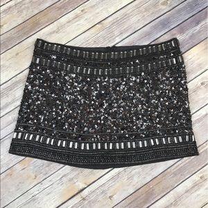 All Saints Dresses & Skirts - AllSaints Embellish Beaded Sequin Devo Skirt