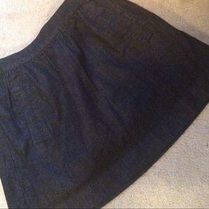 J Crew Denim Skirt