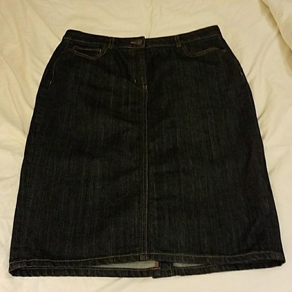 71 boden dresses skirts boden denim pencil skirt